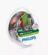 Philips 12342LLECOS2 Лампа галогеновая PHILIPS H4 P43t 12V 60/55W  1шт.