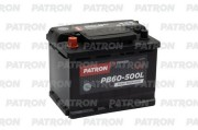 PATRON PB60500L Аккумулятор patron power 12v 60ah 500a etn 1(l ) 242x175x190mm