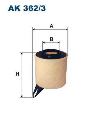 Запчасти  Bmw e81/e87/e90/e91/e92 фильтр воздушный Filtron арт. AK362/3 ИП Гребенюк Л.Е