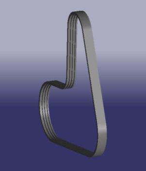 Запчасти  Chery a11-3701315ba ремень поликлиновый генератора CHERY арт. A11-3701315BA ИП Гребенюк Л.Е