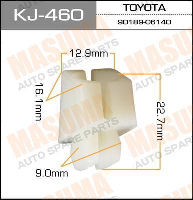 Запчасти  Покер пластмассовый крепежный Masuma арт. KJ-460 ИП Гребенюк Л.Е