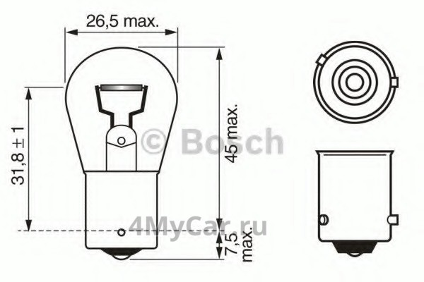 Лампа накаливания, фонарь указателя…