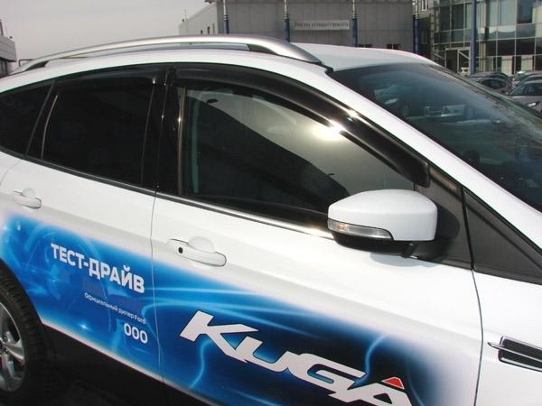 Ветровики СТ Ford Kuga 2013-/Escape 2012- CobraTuning F33413 - фото 5