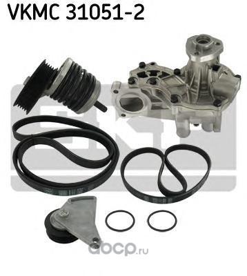 Skf VKMC310512 Водяной насос + комплект ручейковых ремней