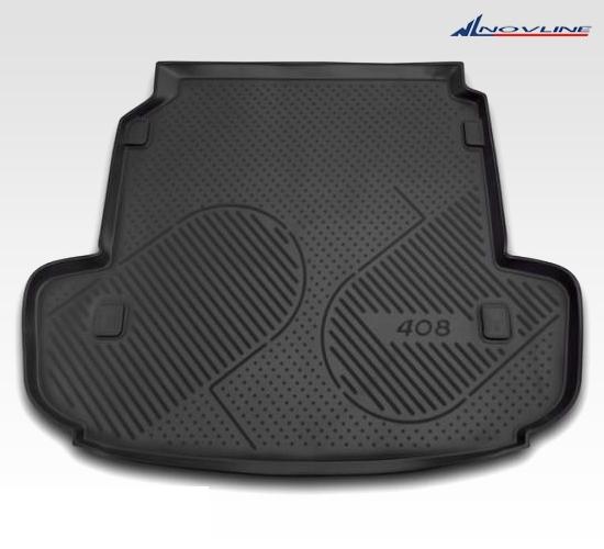Автомобильный коврик Novline CARPGT00023 для Peugeot 3008 2010-2016 - фото 3