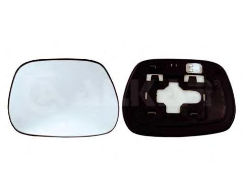правое зеркало toyota rav4 2007 года