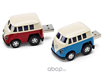Флешка Volkswagen t1 bulli usb-stick, red