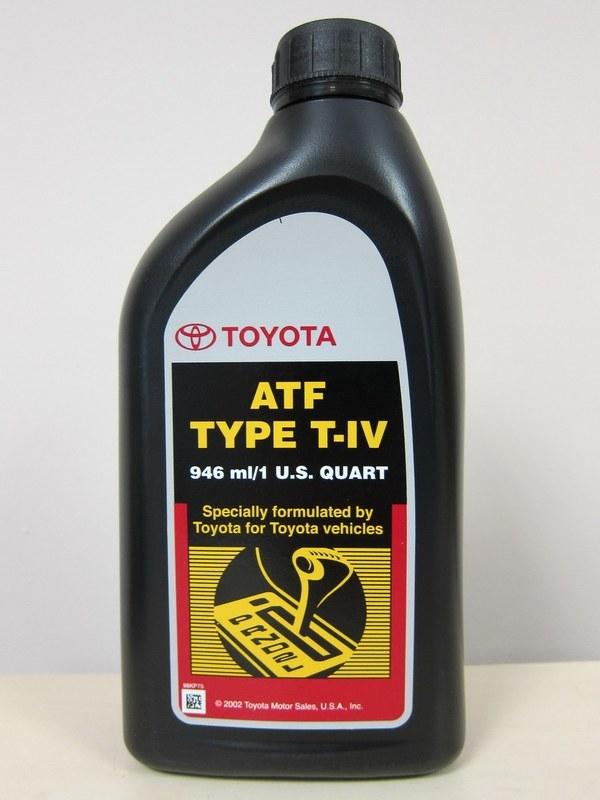 toyota atf t-iv масло для лачетти