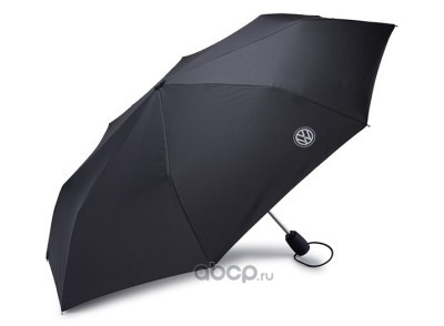 Складной зонт Volkswagen Logo compact umbrella, black