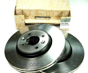RENAULT 402060010R Диски тормозные передние, комплект 2шт