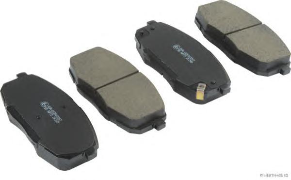 Колодки тормозные передние Nipparts J3600319 - фото 7