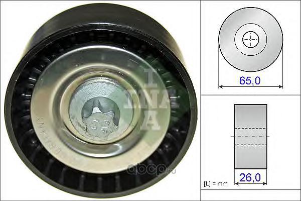 Ina 532057010 Паразитный / ведущий ролик, поликлиновой ремень