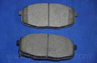 Parts-Mall PKB022 Комплект тормозных колодок