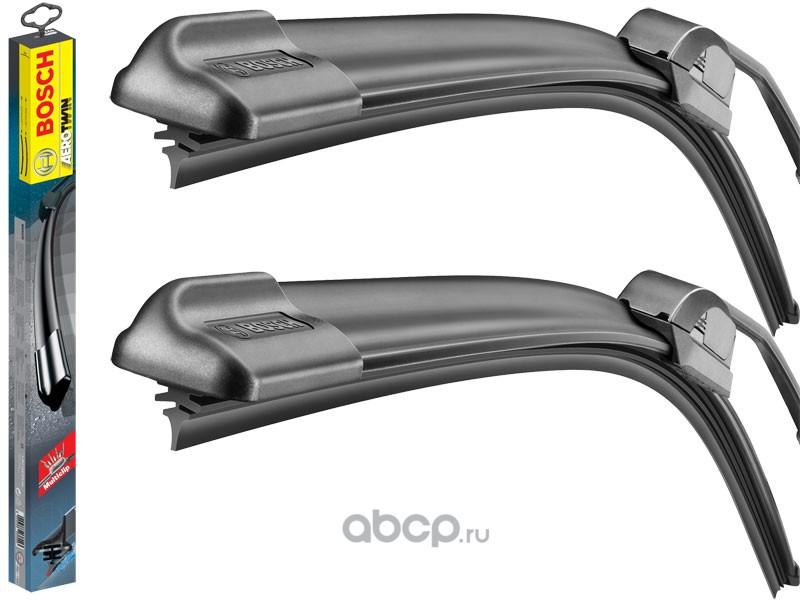 Bosch 3397007466 Щётки стеклоочистителя 650/380мм AEROTWIN MULTI-CLIP