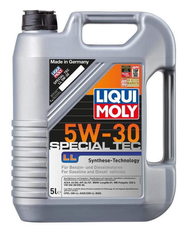Моторное масло Liqui Moly 39005 Leichtlauf High Tech LL 5W-30 1л - фото 8