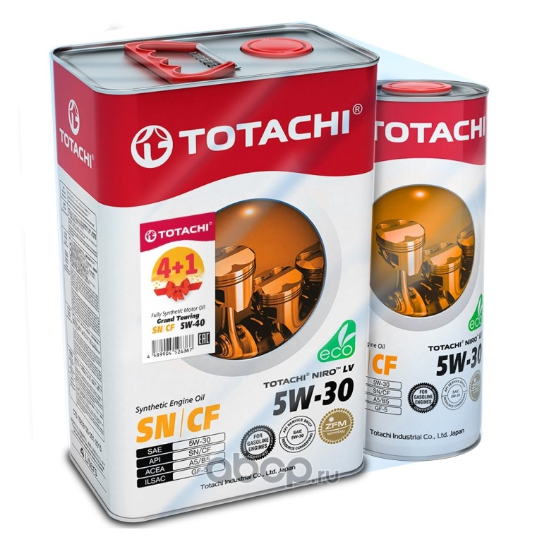 TOTACHI A4589904524028 Масло моторное TOTACHI NIRO LV Synthetic 5W-30 синтетика 5W-30 5 л.