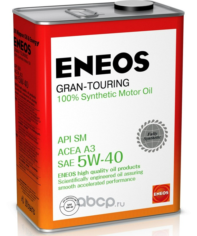 ENEOS OIL4066 Масло моторное синтетика 5w-40 4 л.