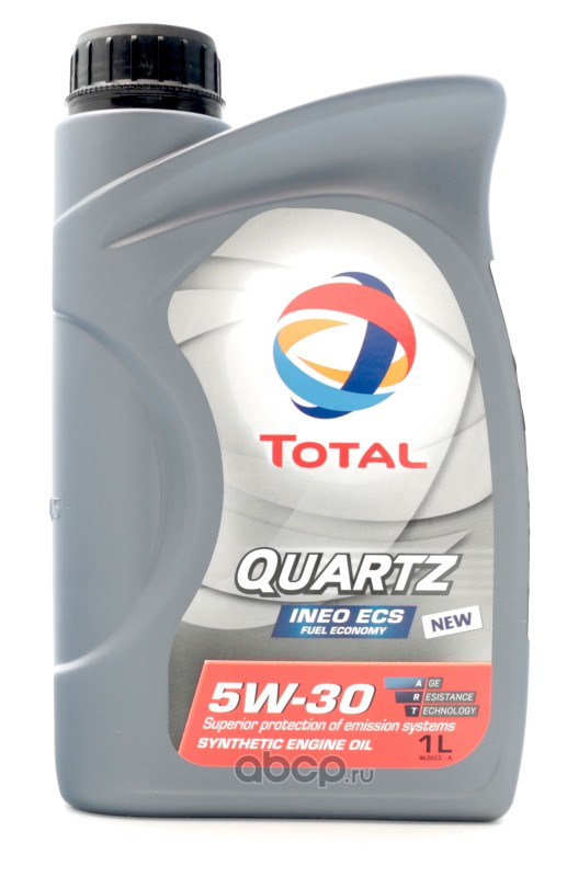 Масло моторное TOTAL QUARTZ INEO ECS 5w-30 синт.(1л.)