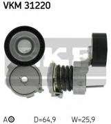Skf VKM31220 Натяжной ролик, поликлиновой  ремень