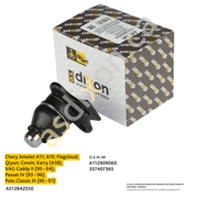 AS12B42550 A.S.DIXON Опора шаровая