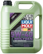 Liqui moly 9055 Масло моторное Liqui moly Molygen New Generation 5W-40 синтетика 5 л.