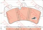 TRW GDB1548 Колодки тормозные передние