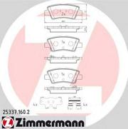 253371602 ZIMMERMANN Комплект тормозных колодок