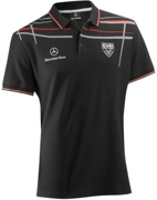 B66953839 MERCEDES-BENZ Мужская футболка-поло Mercedes T-Shirt Herren Black размер: XXL