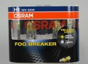 62150FBRDUOBOX OSRAM Комплект ламп H1 55W 12V P14.5s FOG BREAKER