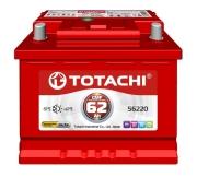 4589904929984 TOTACHI Батарея аккумуляторная 62А/ч 540А 12В прямая полярн. стандартные клеммы