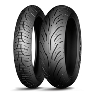 Michelin 429567 Мотошина летняя MICHELIN Pilot Road 4 GT 120/70 R1758W Передняя