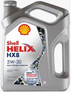 Shell 550046364 Масло моторное Shell Helix HX8 Synthetic 5W30 синтетическое 4 л