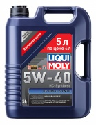 Liqui moly 2293 Масло моторное Liqui moly Optimal Synth 5W-40 синтетика 5 л.