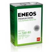 ENEOS 8809478943077 Масло моторное синтетика 5w-40 4 л.