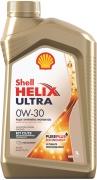 Shell 550046358 Масло моторное SHELL Helix Ultra ECT C2/C3 0W-30  синтетика 1 л.
